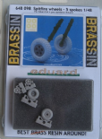 ED648098 1/48 Supermarine Spitfire wheels - 5 spoke